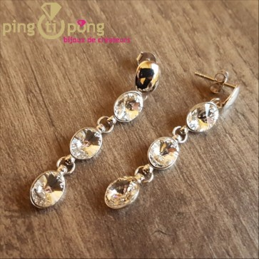 Boucles diamant SPARK