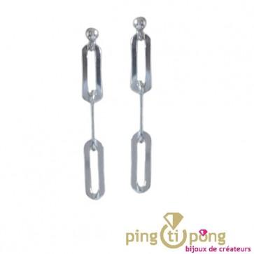 Boucles puces 3 anneaux by Olivier Lafond