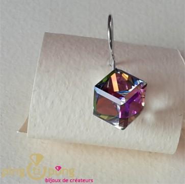 Boucles cubes aurore boréale