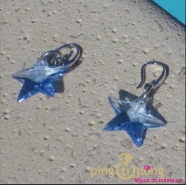 Boucles pendantes étoiles Spark