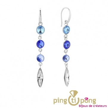Boucles willow aigue-marine de SPARK