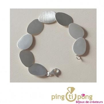 Bracelets en écailles d'argent KELIM Design