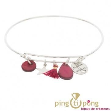 Bracelet en argent et pampilles Petite Sardine
