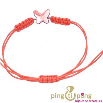 Bracelet cordon papillon de SPARK