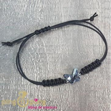Bracelet papillon marine