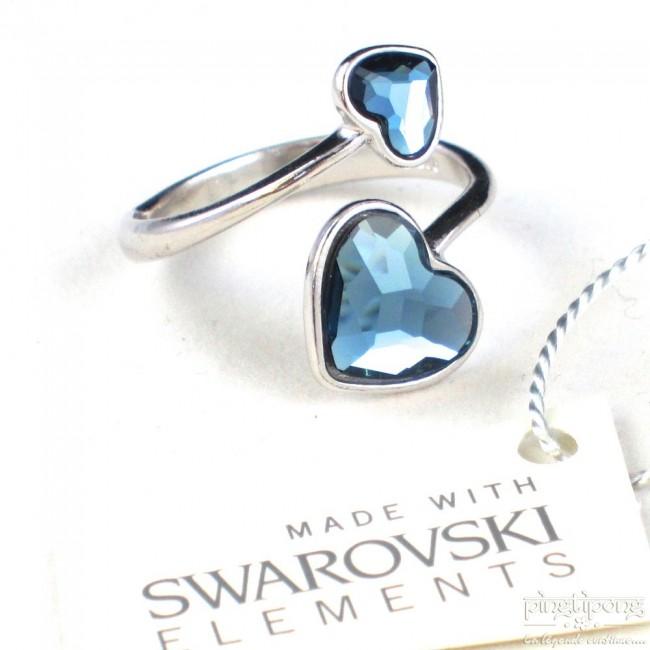 Bijoux Argent Swarovski : Bijoux spark swarovski argent et alcantara