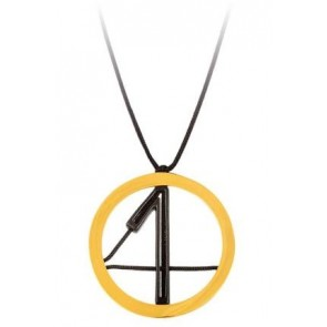 bijou de l'année 2014 plaqué or chiffres 2014