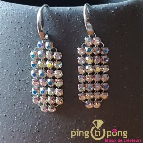 Boucles strass SPARK