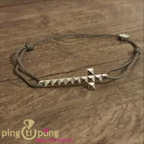 Bracelet croix clous de L'avare
