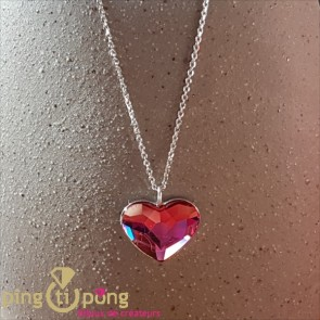 Collier SPARK coeur