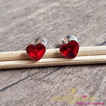 Puces coeurs rouges SPARK