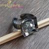 """Bague """"Black Pearl"""" de Ostrowski Design en argent noirci et cristal de Swarovski®"""