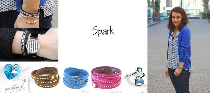 Bijoux Spark en swarovski