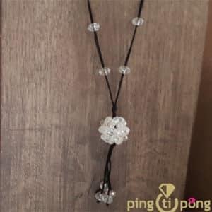 BIjou original : Sautoir perles PINGTIPONG