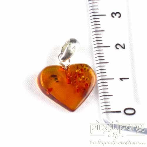 heart-shaped balticambre jewellery