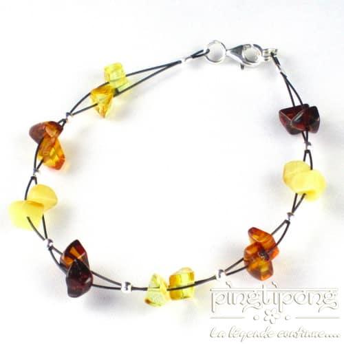 bracelet hawaii en ambre