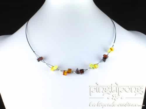 bijoux ambre hawaii en ambre 4 couleurs