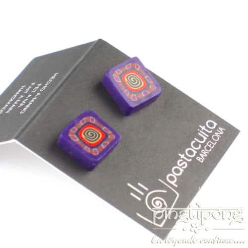boucles pastacuita spirale violettes
