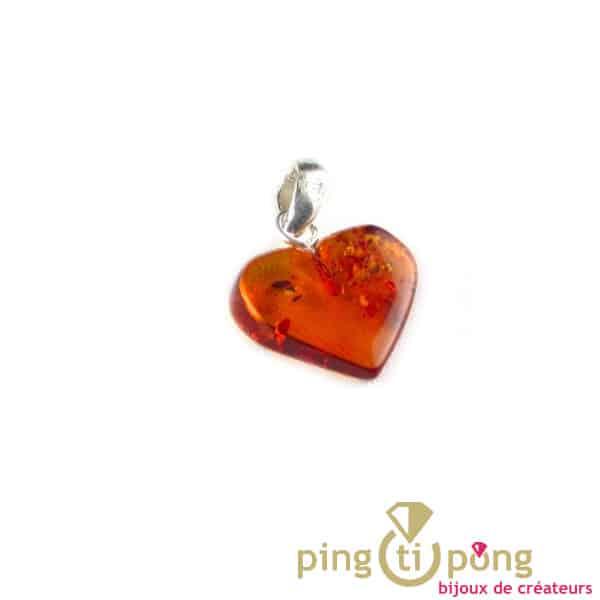 Balticambre heart pendant