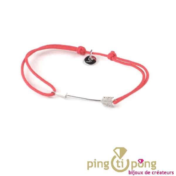 Bracelet L'avare avec flèche en argent