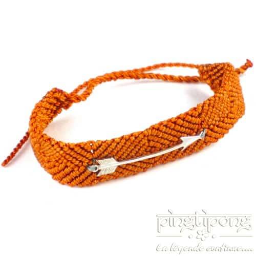bracelet argent femme flèche brésilien de L by L'avare