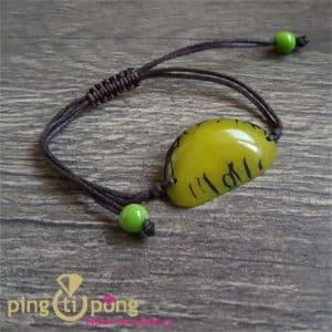 Bijou nature : Bracelet tagua vert GREENAGE