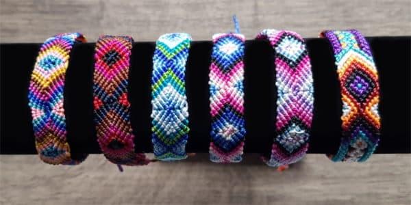 BIjoux de créateur : bracelets tibétains de O. Lafond