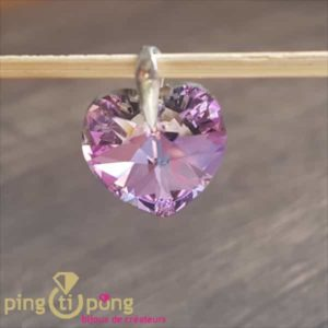 Coeur violet de SPARK