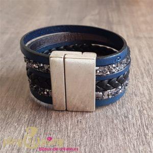 Bracelet multi cuir