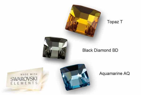 couleurs du cristal de swarovski pour la collection mexican mosaic