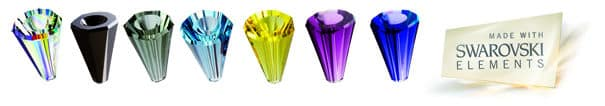 couleurs du cristal de Swarovski pour les bijoux STAR3