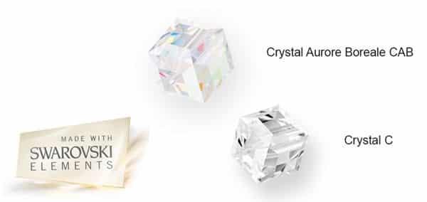 swarovski crystal colour range for TWIST jewellery by Ostrowski Design