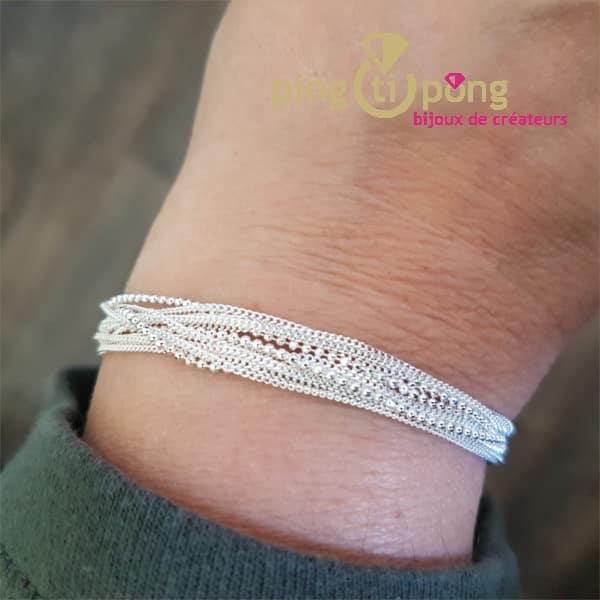Bracelet CANYON argent
