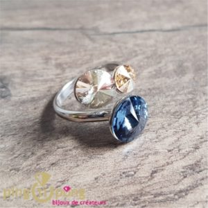 Blue candy ring SPARK