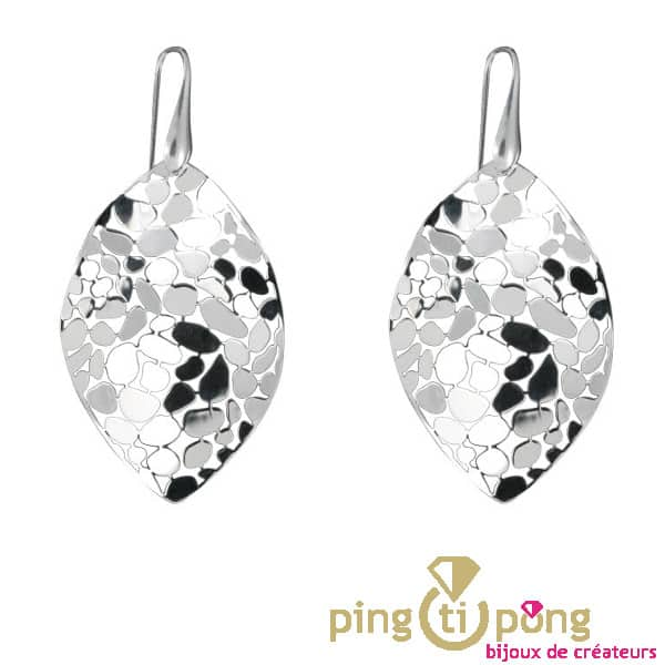 CANYON 925 Sterling Silver Leaf Earrings