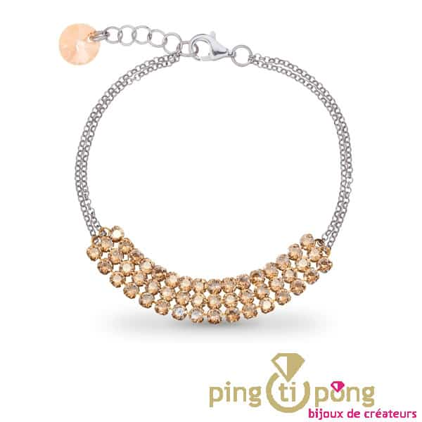 Bracelet en argent Spark