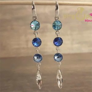 Boucles willow bleu de SPARK