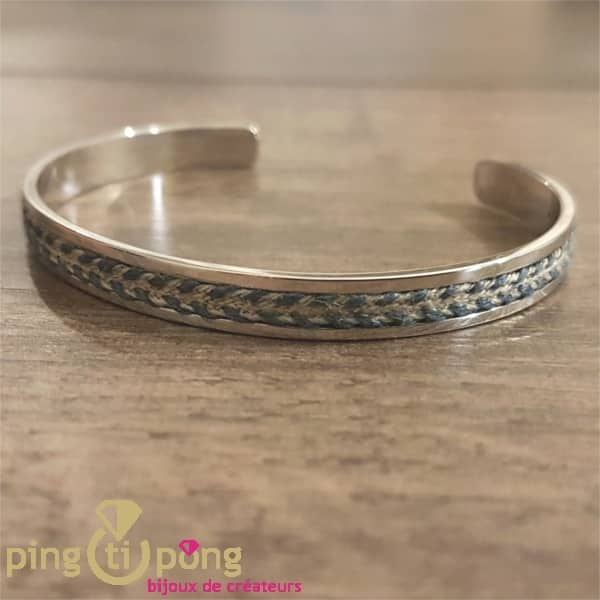 Bracelet jonc LOU O. LAFOND