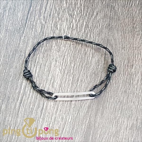 Bracelet FIGARO noir