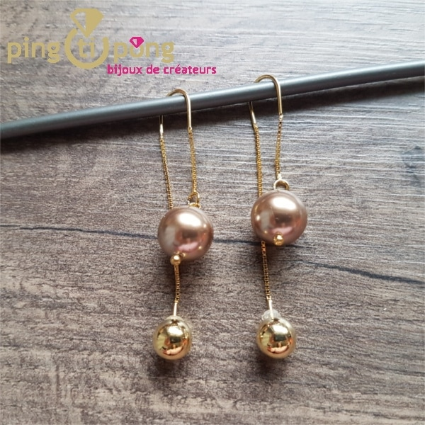 Boucles double brins or SPARK