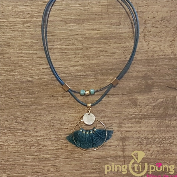 Bijou en nacre : collier or et nacre de La Petite Sardine