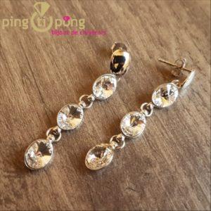 Boucles diamant SPARK