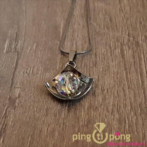 Collier argent noirci de Ostrowski Design