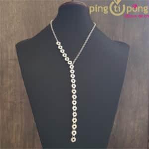 Original Jewelry : Sterling silver flowers necklace by Kelim Design