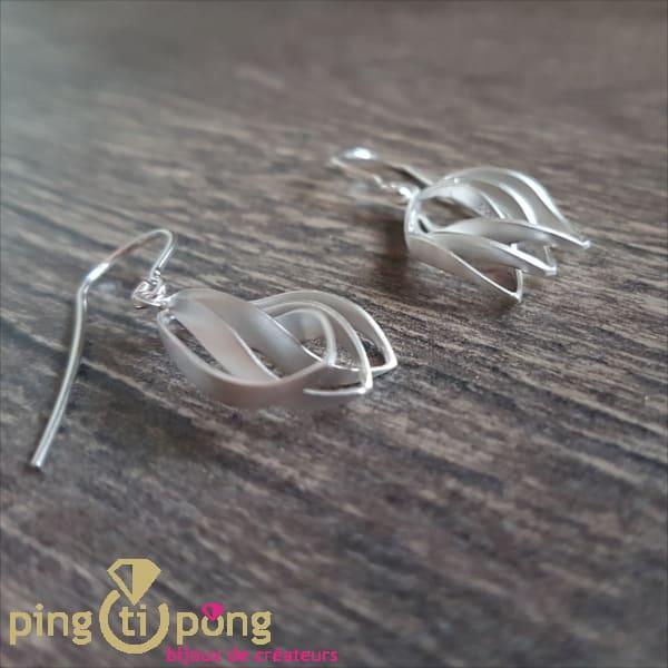 Silver Jewellery: crocus earrings by KELIM Design