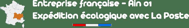 entreprise française Ain 01 expedition écologique avec La Poste