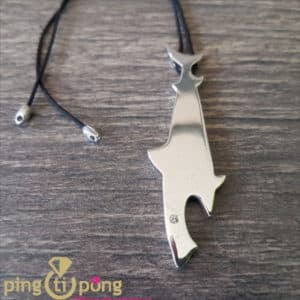 Bijou en argent : Collier requin en argent HONOR