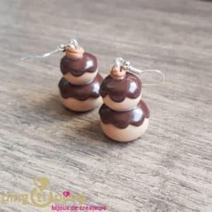 Bijou gourmand : Boucles religieuses en chocolat PINGTIPONG