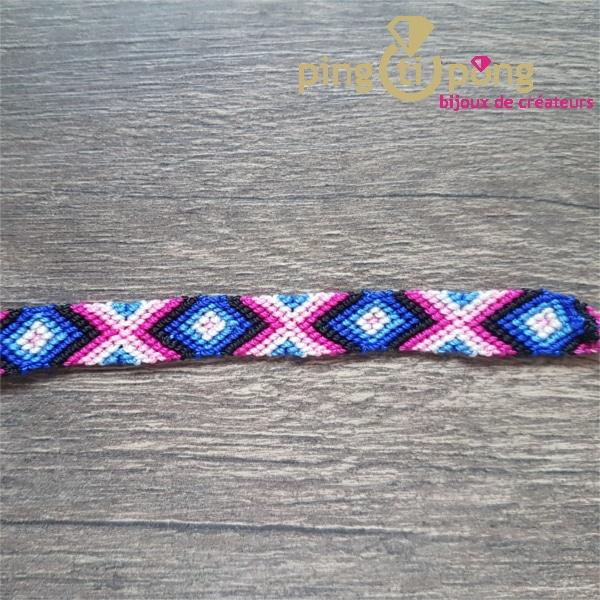 Bijou original : Bracelet brésilien bleu de Olivier LAFOND