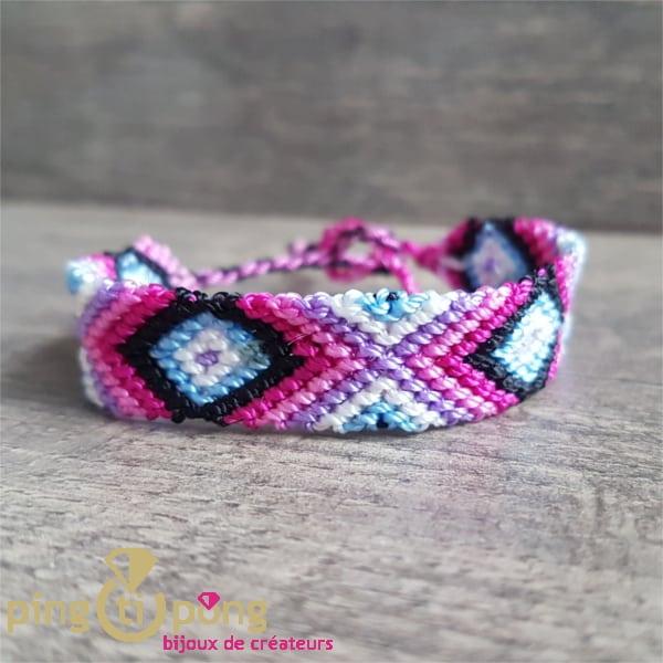 Bijou artisanal : Bracelet brésilien véritable O. LAFOND